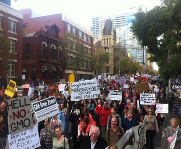 Marcha contra Monsanto. Foto: Facebook