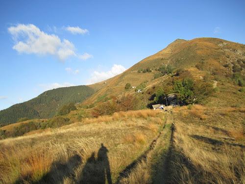 verso il rifugio Pian Cavallone