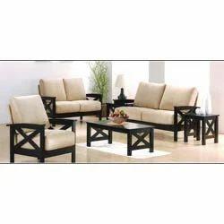 Wooden Sofa Set in Bengaluru, Karnataka, India - Manufacturer and ...