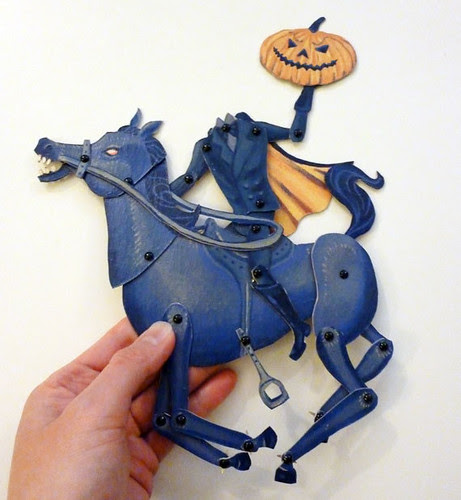 Sleepy Hollow Headless Horseman Articulated Puppet