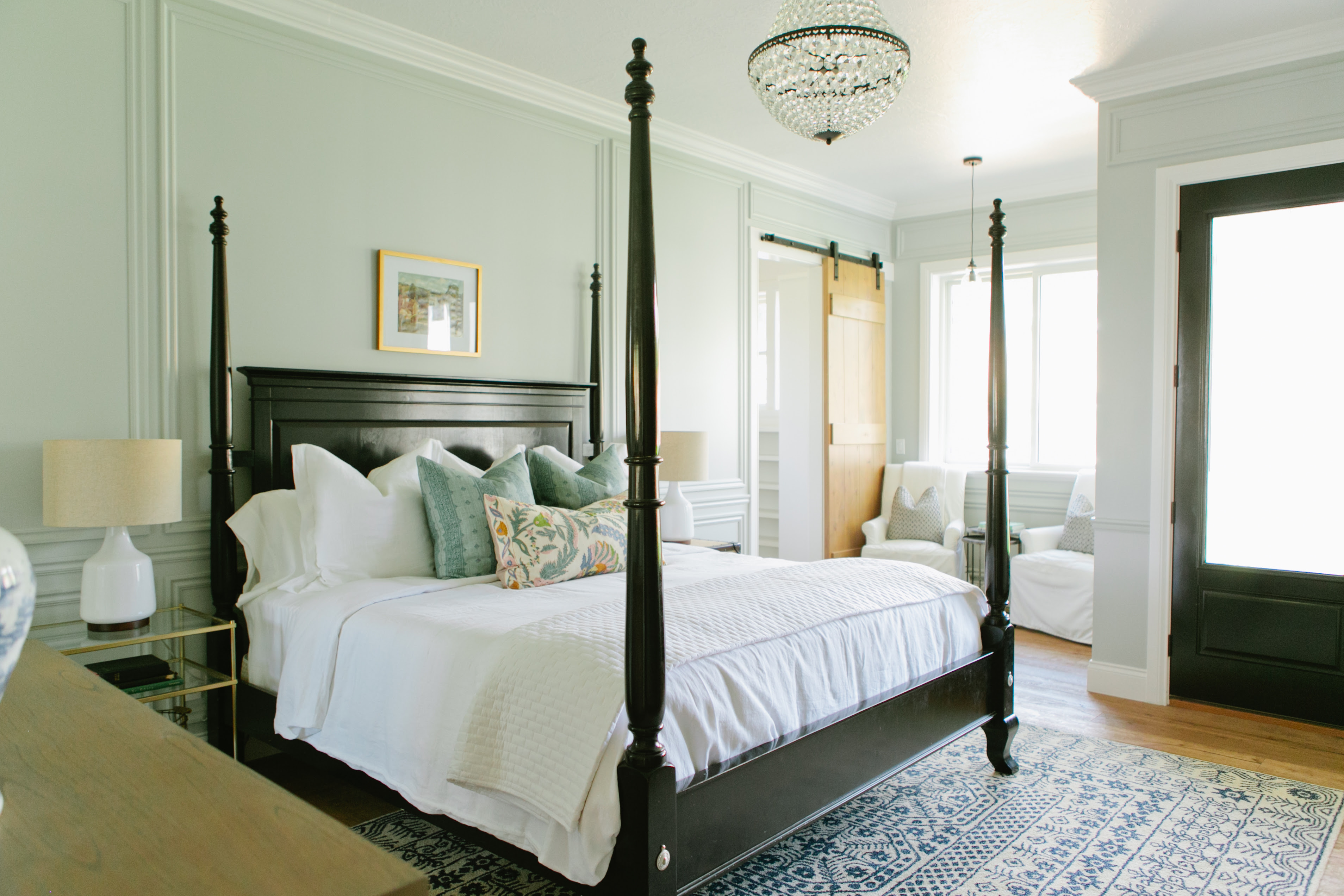 The Modern Farmhouse Project Master Bedroom and Bathroom  House