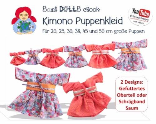 Sami Dolls Handgemacht: Kimono Puppenkleid für Sami/ Waldorfpuppen ...