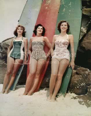 Old fashion swimwear Pictures, Images and Photos