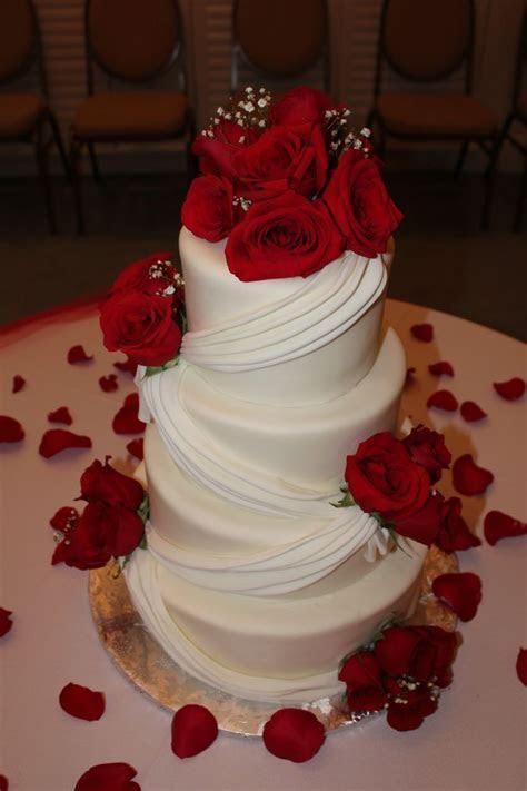 Red roses wedding cake   Wedding   Wedding, Wedding cakes
