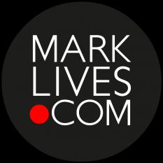 MarkLives logo