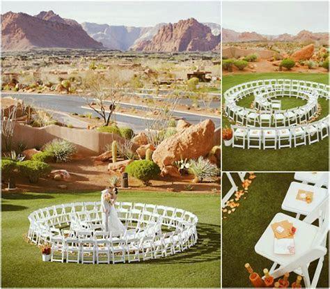 Unique Wedding Ceremony Ideas   Unique Ceremony Seating