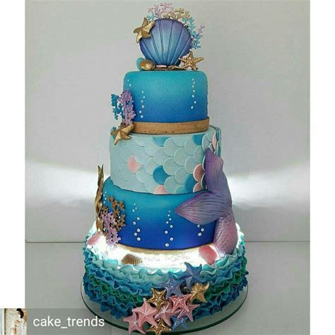 4101 best images about Beach and Sea Cakes on Pinterest