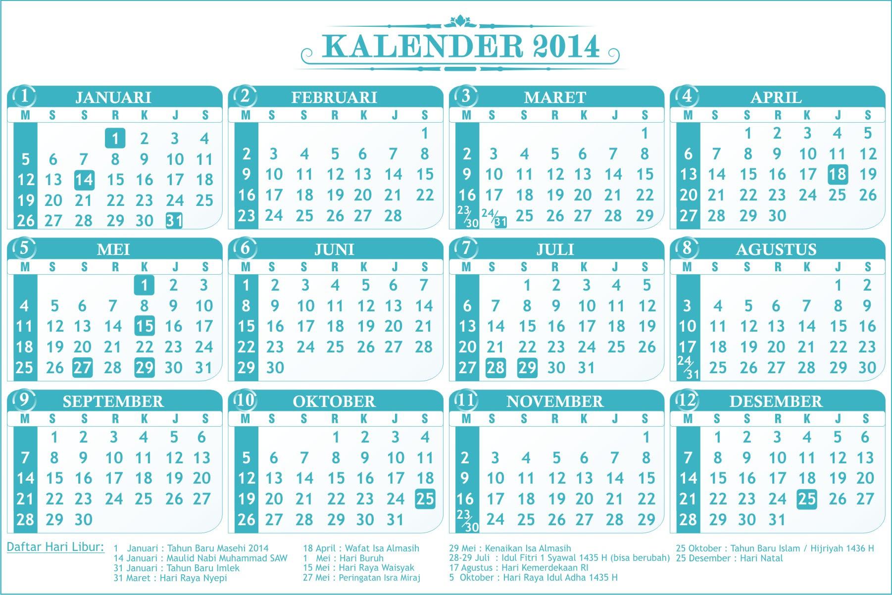 Kalender 2017 Lengkap Dengan Hari Libur Search Results