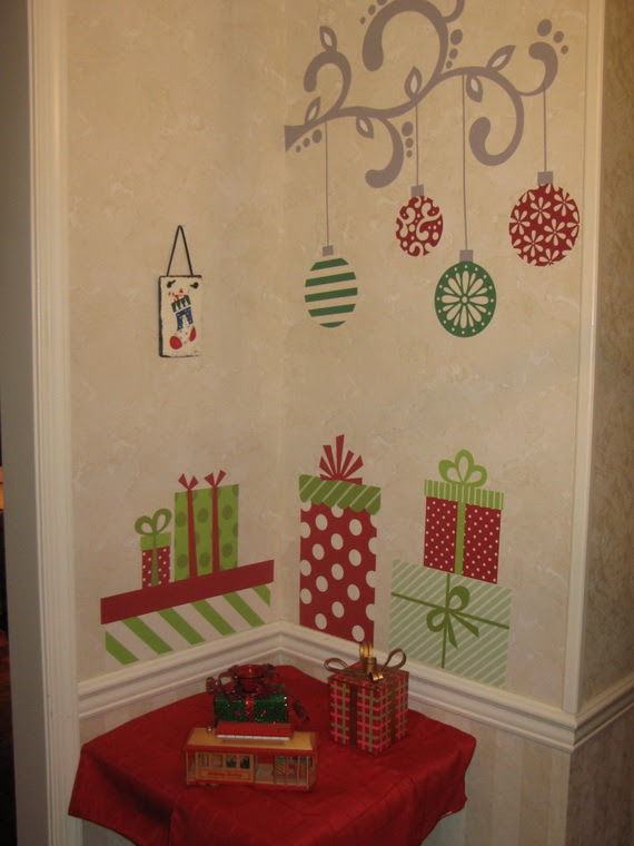 Christmas Decoration Ideas for Kids Room - Wall Decals ...