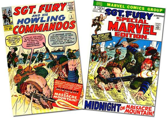 Sgt,. Fury #3/SME #5