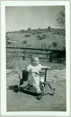 Child in a stroller