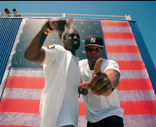 """Os rappers Jay-Z e Kanye West divulgam primeiro vídeo de """"Watch the Throne"""", em agosto de 2011"""