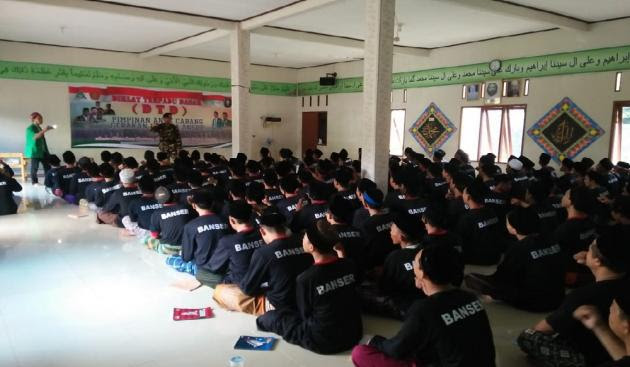 Ratusan Generasi Muda di Tangerang Resmi Masuk Banser