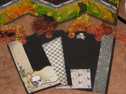 Altered Halloween File Folder Portfolio 006