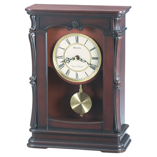 Bulova Abbeville Mantel Clock at Hayneedle