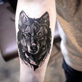 Tatuajes Lobos Cool Fotos De Tatuajes De Lobos With Tatuajes Lobos