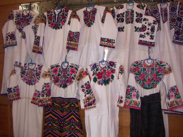 Ukrainian embroidery, Ternopil state, Ukraine
