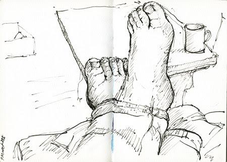 feet by Julie Oakley