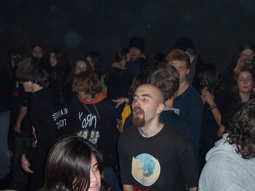 Me at rock Xmass 2005 Tg-Mures