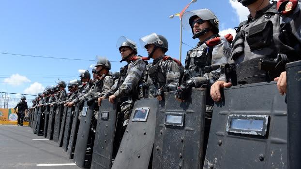Tropa de Choque entrou em confronto com manifestante em Fortaleza na última semana