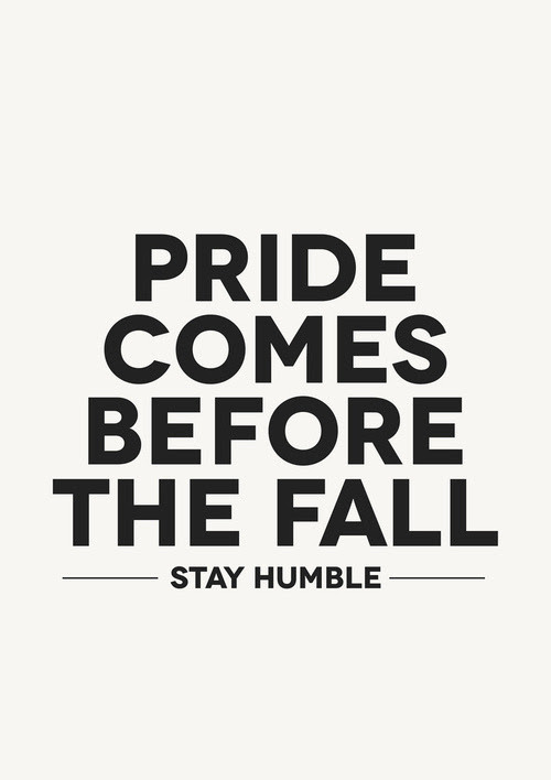 Inspirational Quotes about Pride