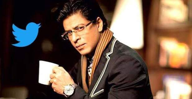 Shah Rukh's Twitter Account is Ranked as The Most Talked Account in B-Town