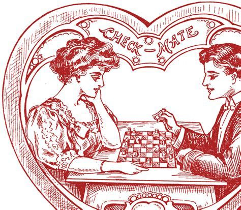 Victorian Heart Valentines   The Graphics Fairy
