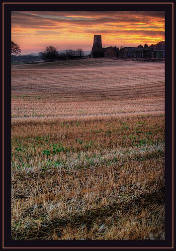Sunrise  Lothian Farm