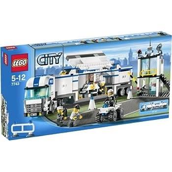 pas cher lego 7743 city jeux de construction le camion de police acheter en ligne. Black Bedroom Furniture Sets. Home Design Ideas