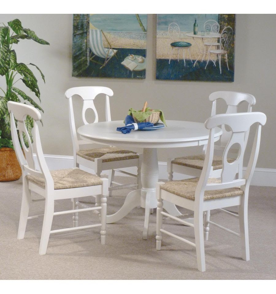 [42 Inch] Classic Round Table  Bare Wood Fine Wood Furniture  Groton, CT
