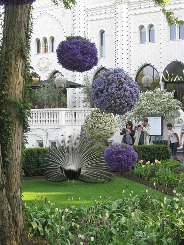 Blomsterprakt i Tivoli