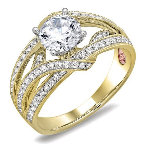 Designer Bridal Rings   DW6078