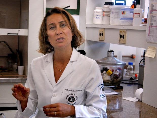 A pesquisa da Unicamp Jacqueline Mendonça Lopes de Faria (Foto: Antoninho Perri /Unicamp)