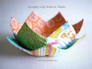 1930s Lovely Lily Bowl