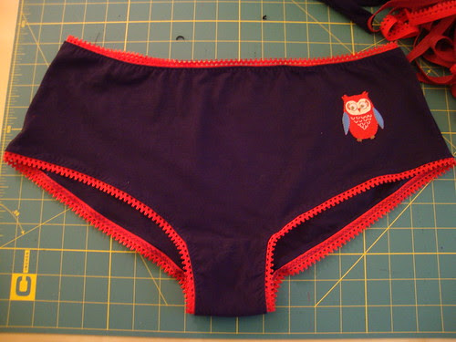 owl boy shorts
