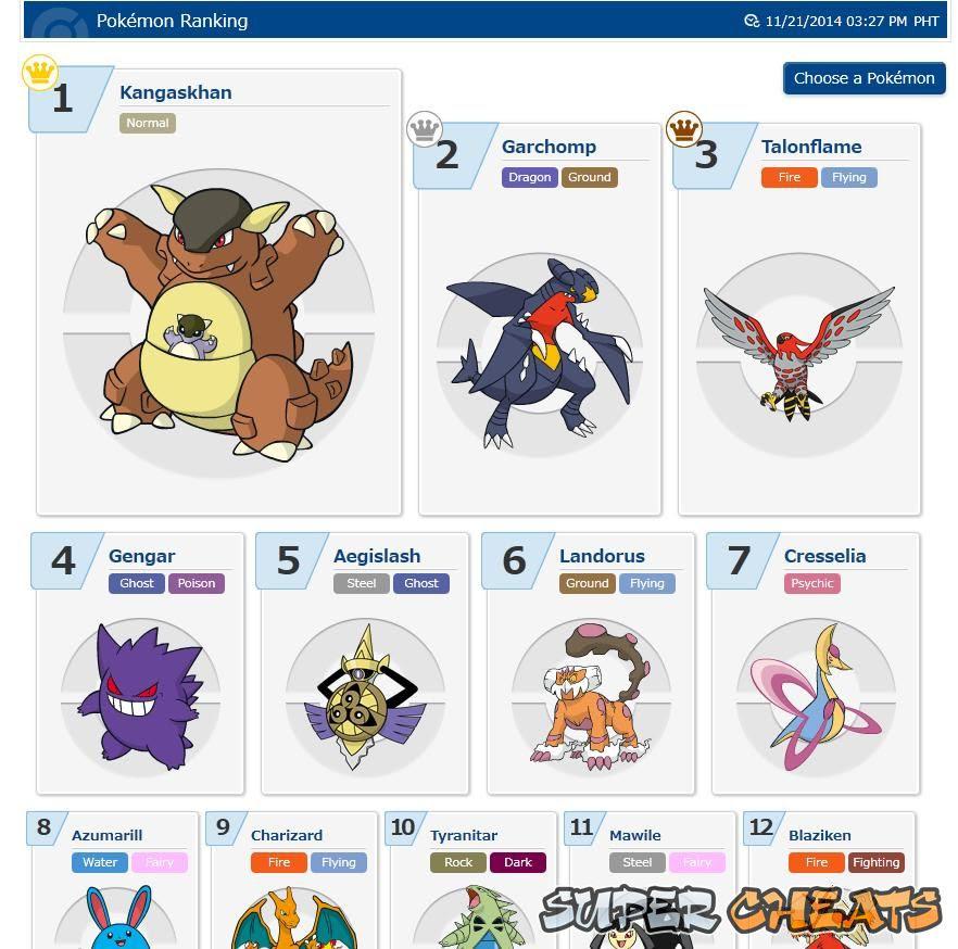 Rating Battle  Pokemon Omega Ruby