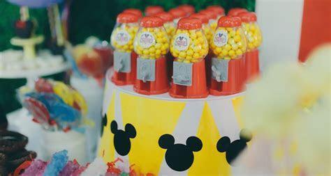 Kara's Party Ideas Mickey Mouse Circus Birthday Party