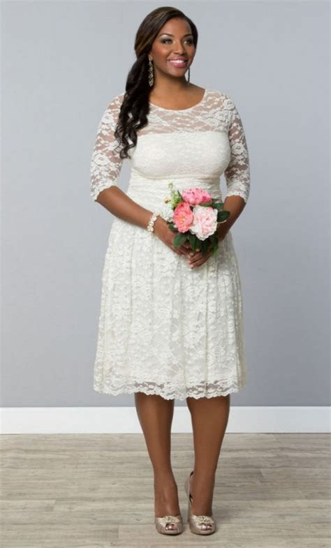 10 Perfect Plus Size Bridal Shower Dresses   Aisle Society