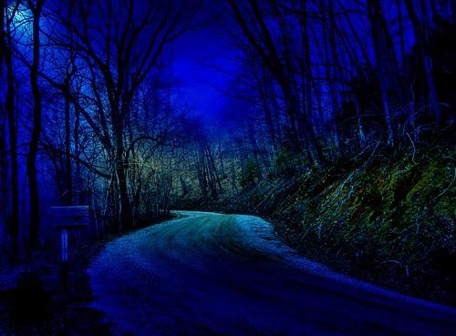 Moonlight on a Hazy Night