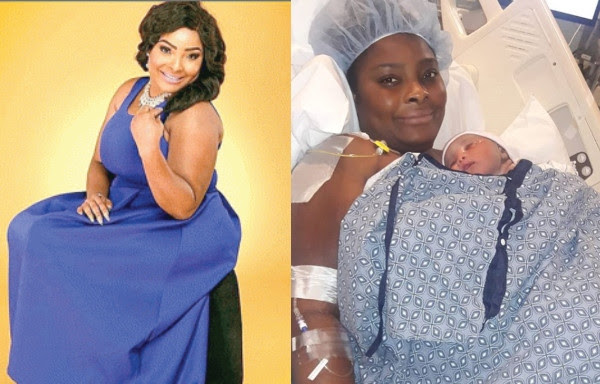 Image result for NOLLYWOOD YORUBA  ACTRESS ODUSANYA  GAVE BIRTH THIS WEAK