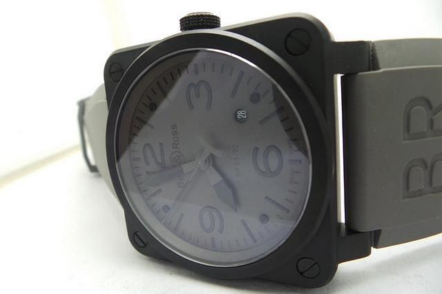 Bell Ross Black PVD Case