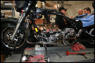 Bryan's Harley – Dismantled!