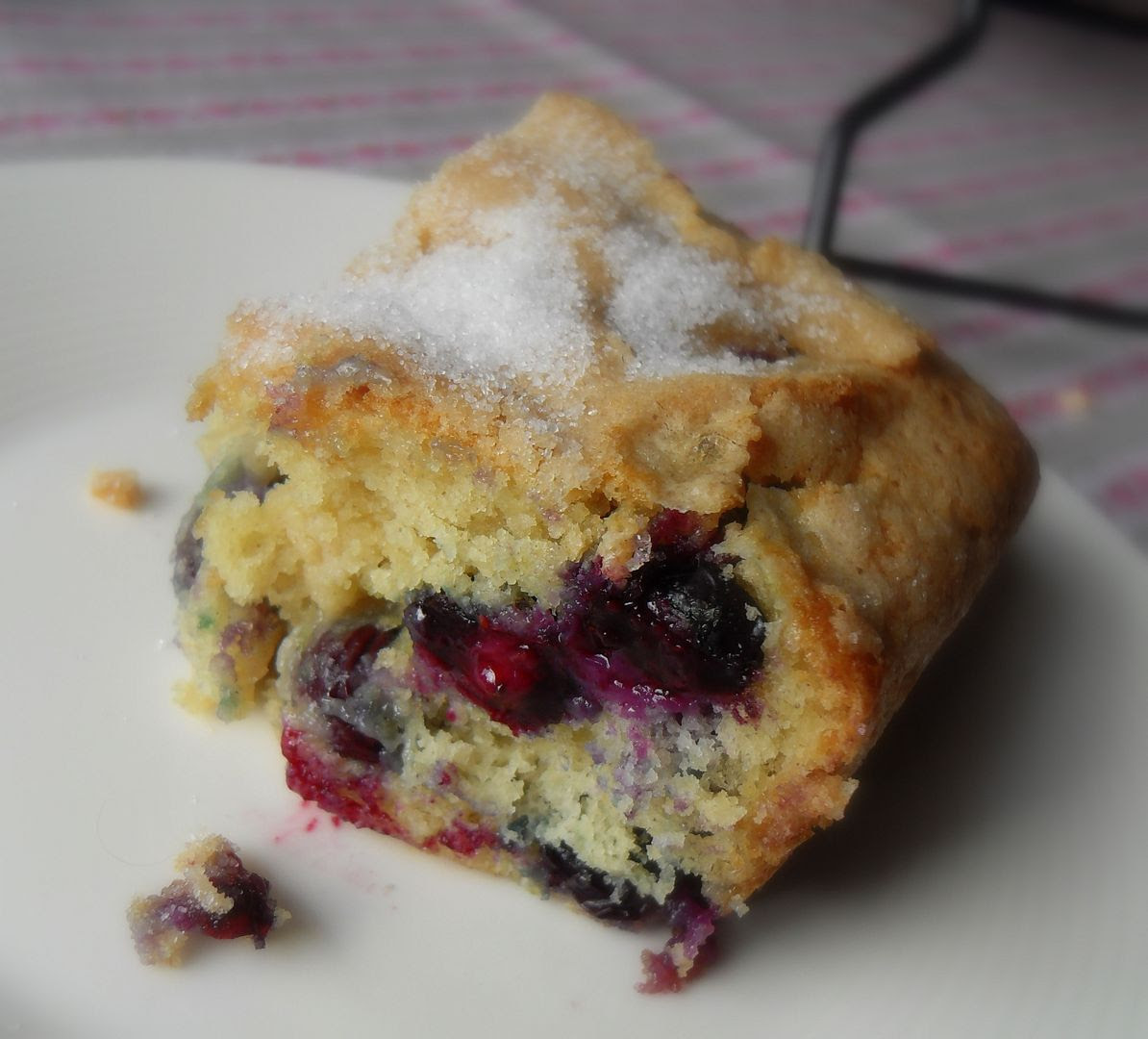Blue Ribbon Blueberry Cake