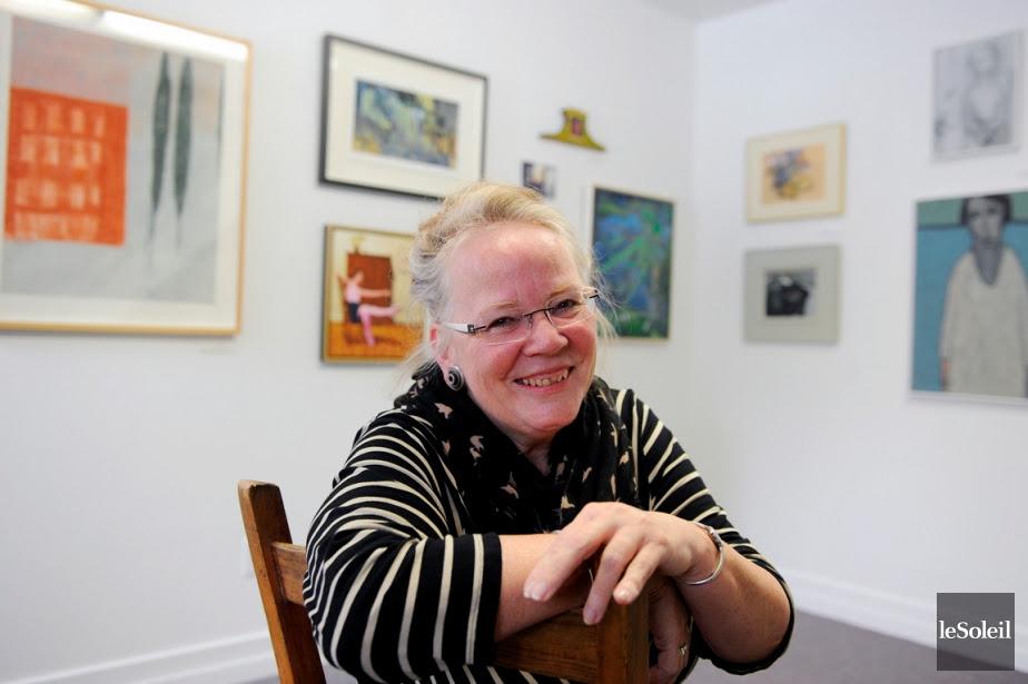 Chez madame la galeriste: Linda Verge célèbre ses 30 ans d'expositions