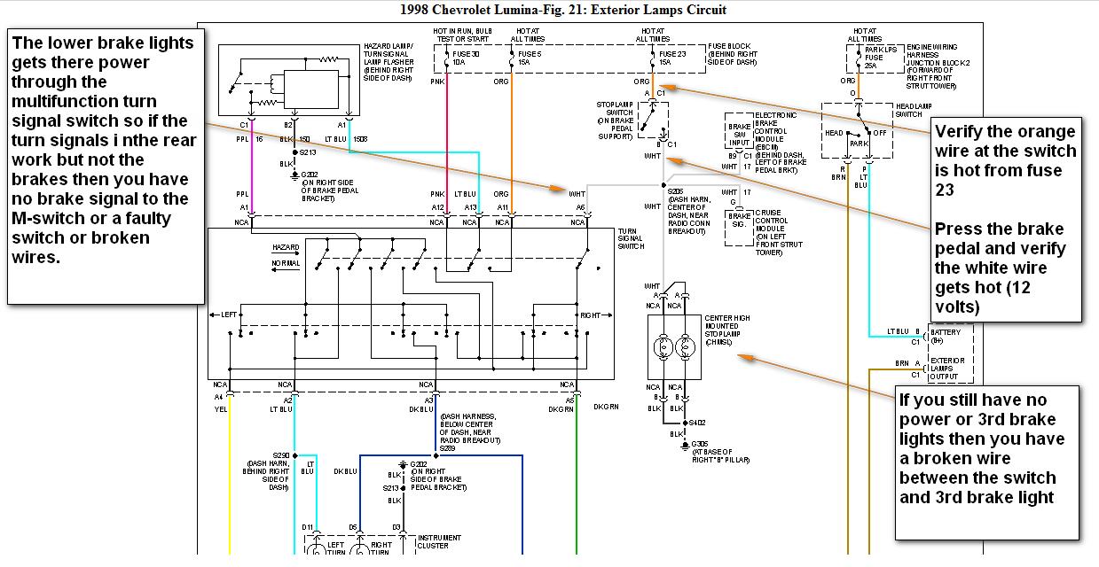 98 Chevy Lumina Wiring Diagram