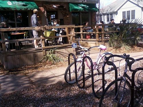 Bike Parking at Bean Gallery