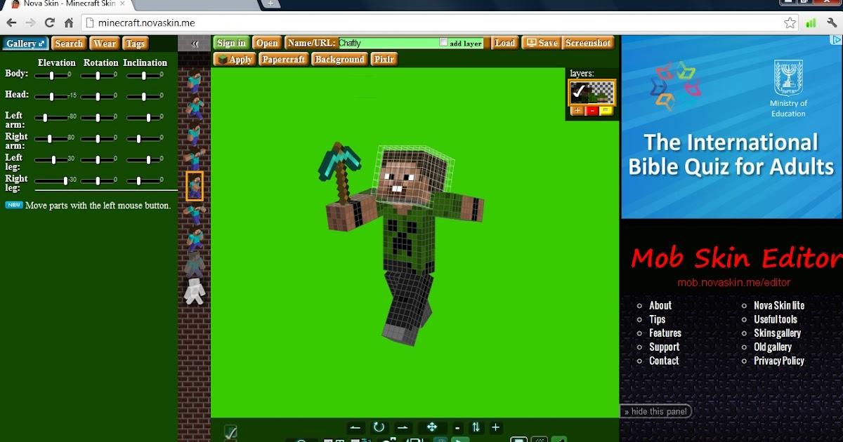 Minecraft Skin Creator Skindex - Bukalah u