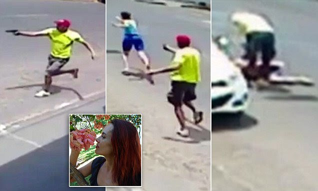 Video shows Brazilian police officer shooting his wife 11 times and kills her