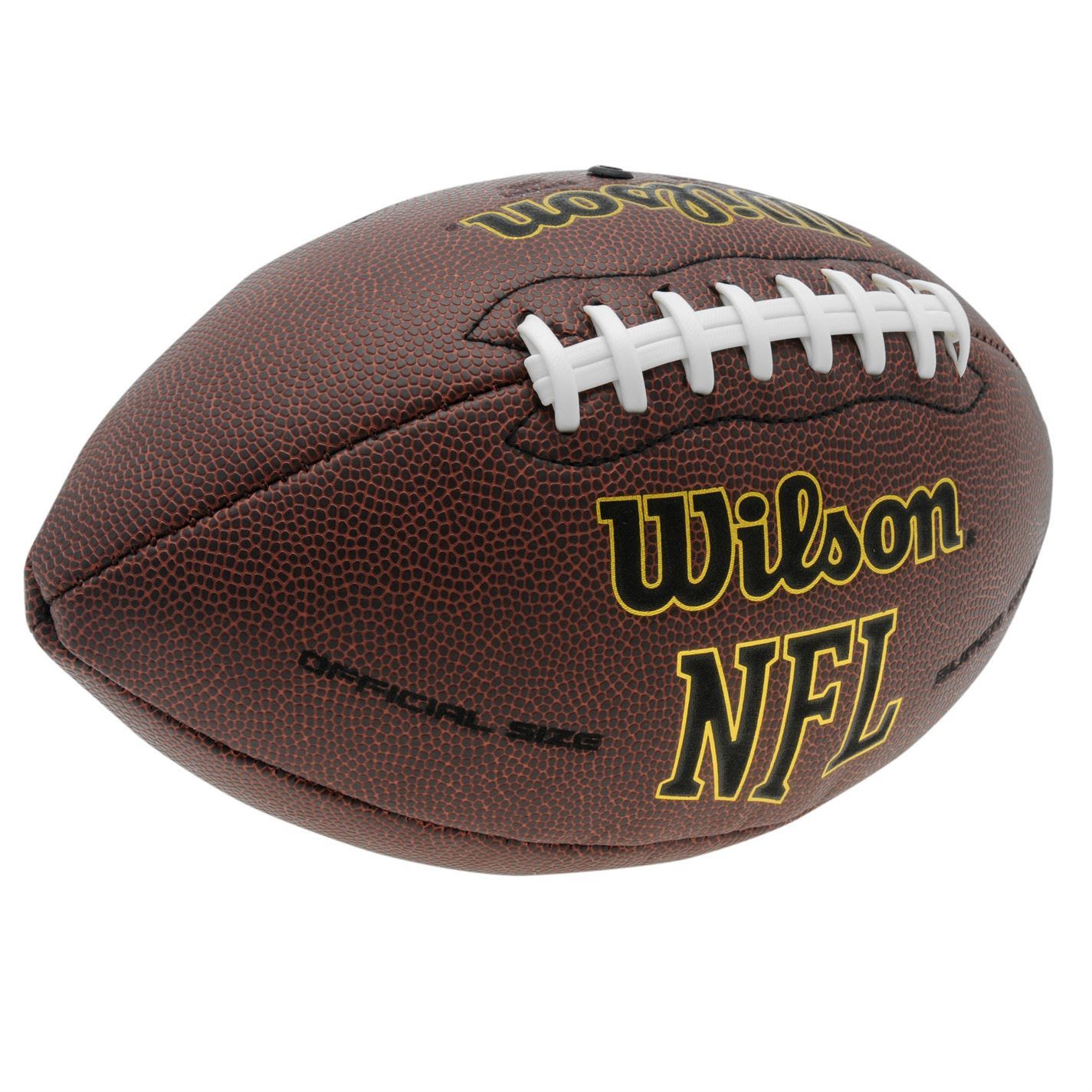 Wilson Nfl American Football Ball Tackified Composite Leather UltraGrip Game  eBay