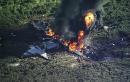 Report: Propeller blade broke, causing military plane crash